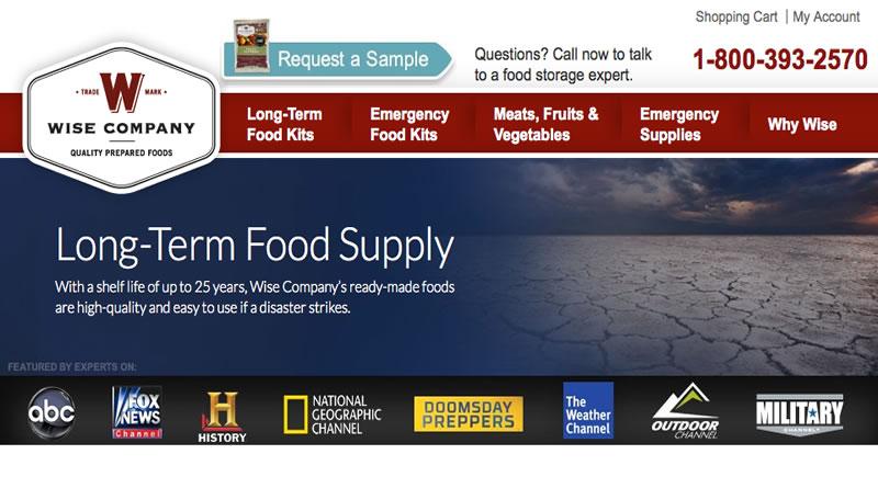 Wise Long Term Food Kits