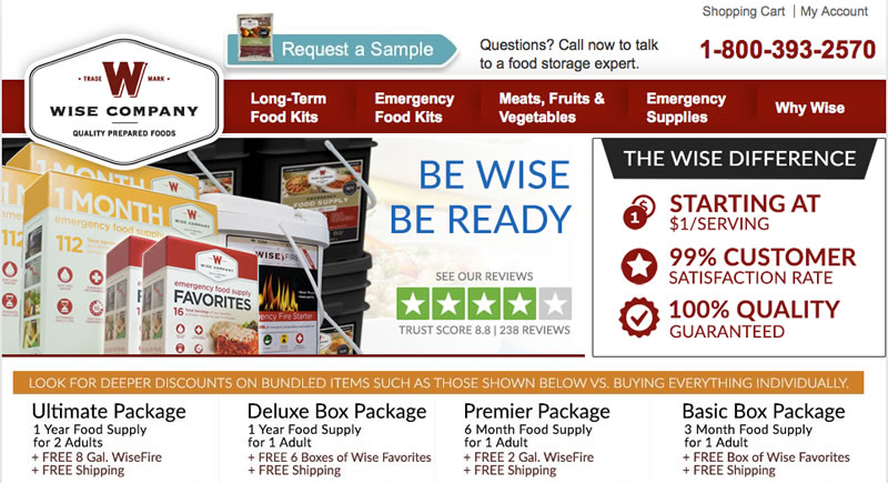 Wise Food Storage Company Review