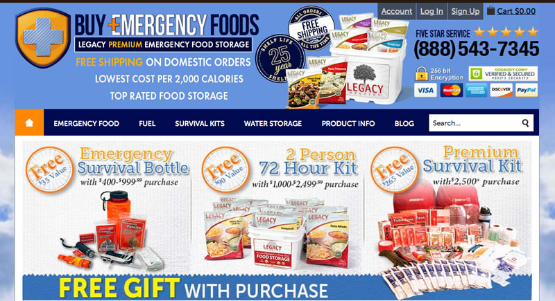 Buy Emergency Foods Review