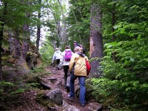 Hiking supports prepper skills