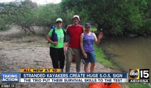 Kayakers use survival skills to make it through crisis situation