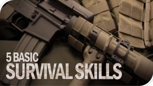 5 basic survival skills